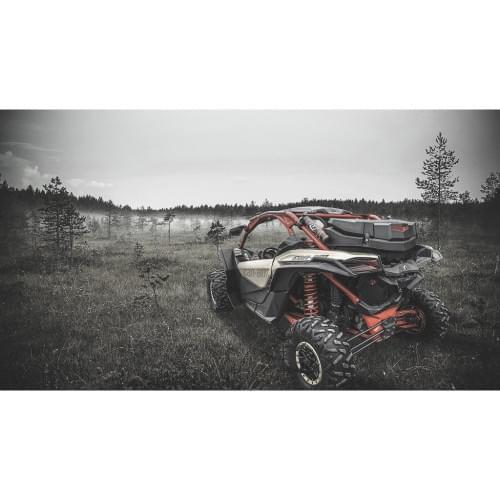 Кофр 80л для Can-Am G2 Outlander 2012+ /Maverick X3 2017 + 715004923 GKA TESSERACT